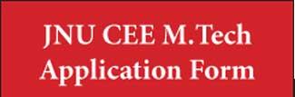 JNU CEE M.Tech 2019